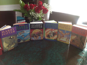 HARRY POTTER SERIES EXCELLENT CONDITION SMOKE FREE HOME