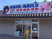 Nails technicians & estheticians wanted
