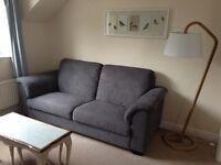 Ikea grey 3-seater sofa £300