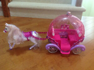 Barbie Horse and Carriage Playset