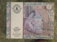 Kirstie Allsop 3 in 1 shopping bag sewing kit