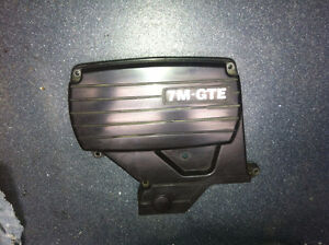 91 Toyota Supra timing belt cover
