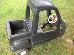 Free Little Tikes Black Truck