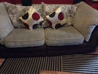 Large VGC 3 seater and 2 seater suite