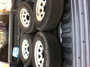 Trailer tires. $75.00. Each.