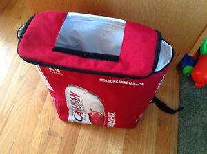 Backpack Cooler....holds a case of 24