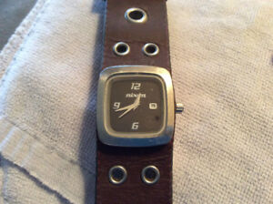 Nixon watch leather strap rev it up the mini gto newbattery