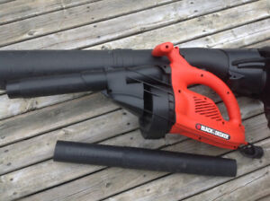 Leaf Blower Electric Back and Decker