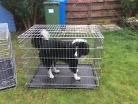 Dog cages extra large x 2