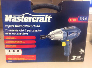 Electric Impact Driver/Wrench Kit
