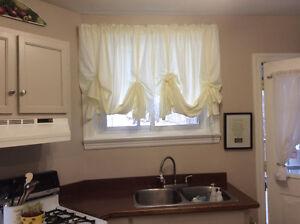2 Window treatments is 12.00 each.