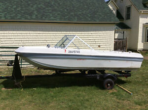 Chrysler Valaint boat/Trailer and outboard