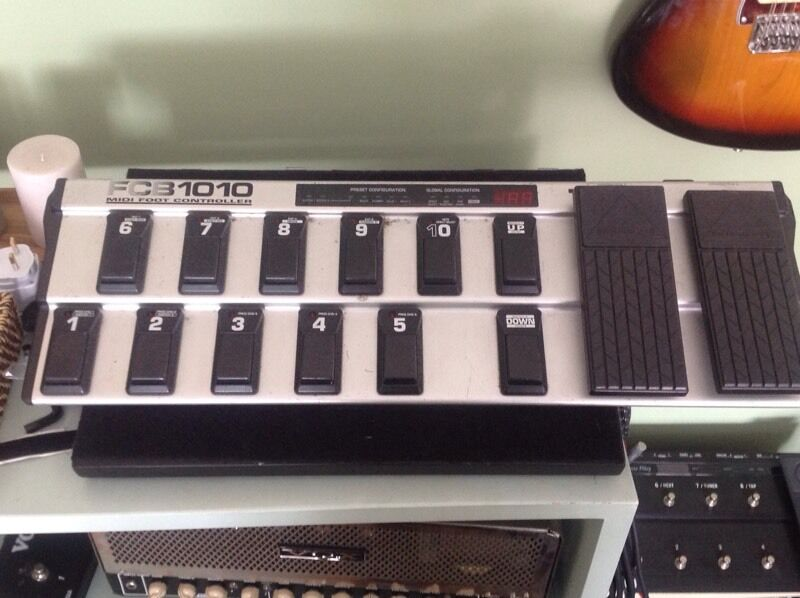 Behringer FCB1010 midi controllerin Brighton, East SussexGumtree - Midi controller very well built Its in fair condition but works fine