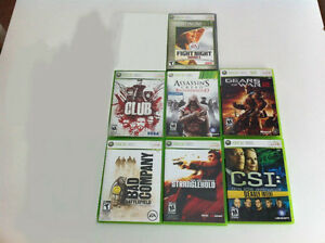 Xbox 360 games in great shape/smoke free home