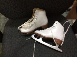 Girl' figure skates