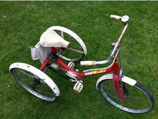 Very old child's trike possible 60,s