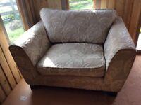 DFS Large Armchair / Cuddle seat