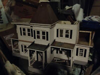 Large Antique doll house.