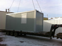 Mobile Site Office Trailers  ~ Forklift Moveable & Modular