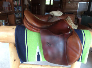 "18"" Childeric Model M Close Contact Saddle, MW, 2005"