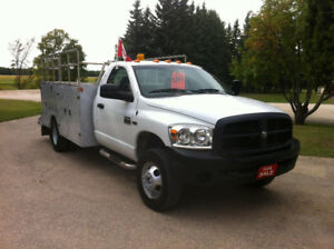 2007 DODGE RAM HD 3500 1 TON DUALLY 4x4