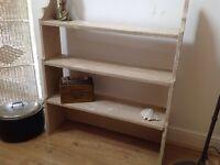 Vintage shabby shelves