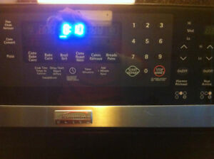 KENMORE ELITE  5 Burner Electric Double Oven Convection Ra