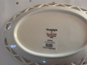 New lovely Fine China Serving Plate -still has tag on Strathcona County Edmonton Area image 2