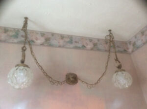 BEAUTIFUL ONE OF A KIND SWAG LIGHTS FOR WASHROOM