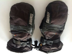 Mitts - Swany - leather palm