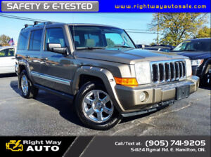 2006 Jeep Commander Limited | V8 | 4x4 | SAFETY & E-TESTED