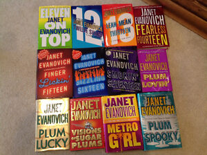 Collection of Janet Evanovich Stephanie Plum Novels Sarnia Sarnia Area image 1