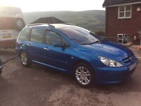 2003 Peugeot 307 sw HDI 7SEATER