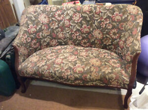 Antique loveseat purchased in Ireland excellent condition