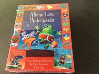 Aliens love underpants 3 book set