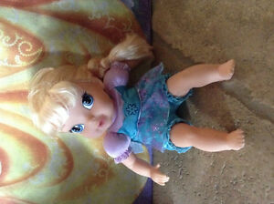 "Baby Elsa Doll, approx 11"". Excellent condition"