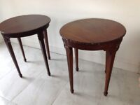 Two Victorian Mahogany Tables they are similar but not identical
