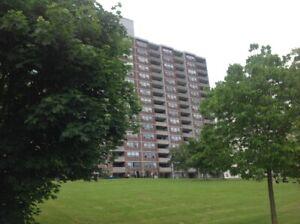 3 bedroom 2 washroom condo Victoria park/Eglinton move in today