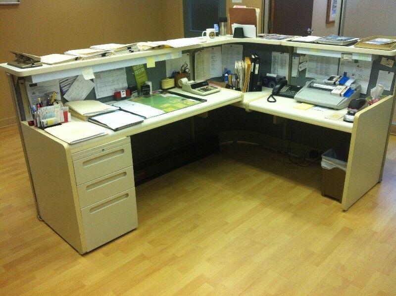 Bureau pour réceptionniste bureaux trois rivières kijiji