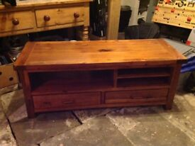 Solid Wood TV Cabinet bought from Housing Units for £595.