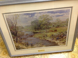 Peter Etril Snyder print , a perfect spring day ,limited signed