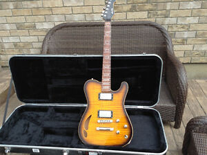 Custom Made Heatley Model T Guitar (with case)