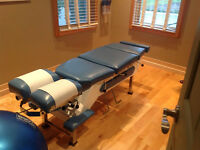 ADJUSTMENT TABLE Chiropractic, Physiotherapy