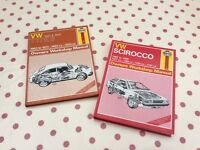 VW Scirocco and Type 3 Haynes manual -njo