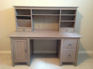 Ikea Hemnes Desk with Topper
