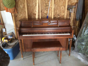 Mason and Risch Piano with stool. 650. Or nearest offer