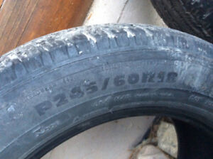 4 Michelin tires 245 60 R18 (Creston)