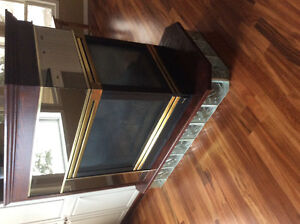 3 sided fire place