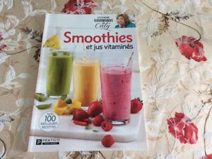Livre Smoothies et jus vitaminés livre neuf pour 10$ de StJerome