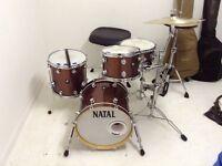 "NATAL MAPLE SHELL JAZZ KIT 18"" bass"